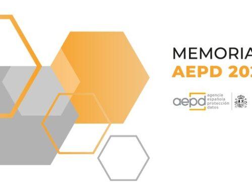 MEMORIA 2020 AEPD